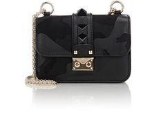 0a460709e0c1 Valentino Rockstud Mini Shoulder Bag at Barneys New York Clear Handbags