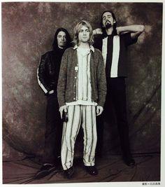 Rare Nirvana Photo