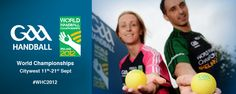 World Handball Championships this october in City west Dublin. Come support the Irish players.
