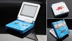 Best Game Boy of All Time - vintagetopia Nintendo Sp, Nintendo Handheld, Nintendo Systems, Custom Consoles, Video Game Rooms, Star Fox, Retro Arcade, Retro Video Games, Entertainment System