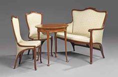 edouard colonna   EDOUARD COLONNA (1862-1948)   SALON SUITE, CIRCA 1900   20th Century ...
