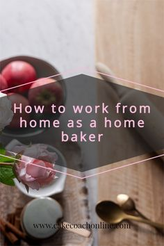 Working from home as a home baker or cake decorator means being disciplined and not forgetting other things around you that might need attention too. Read our blog and discover 5 Tips to help you navigate working from home.