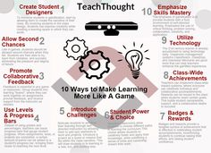 10 ways to make learning more like a game