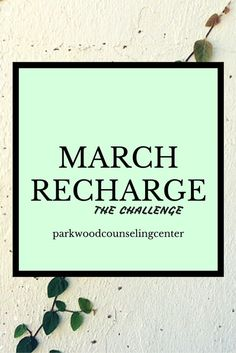 A Challenge to build in  a time away, reflection and breath in a busy world.  We may only need professional counseling because we don't take time to care for ourselves. So let's do this together!  Parkwoodcounselingcenter.com Emily Yi, LCSW Jacksonville, FL 32211 904-725-2500x115