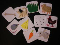 Co jedí? Didaktická hmatová hračka pro nejmenší. Hračka je určena především nevidomým a slabozrakým dětem, může být však i zajímavou zkušeností pro vidící děti vyzkoušet si hru se zavázanýma očima. Všechny obrázky jsou plastické, hmatově zajímavá je především velká rozmanitost použitých materiálů (samet, plyš, pěnová guma, plsť atd.) Po osvojení si ...
