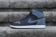 "Shark/Elephant Jordan 1 ""Shadow"" 