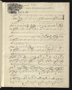 Ravel, Maurice, 1875-1937. Valse; arr. . La valse, arranged for piano : autograph manuscript, 1920.
