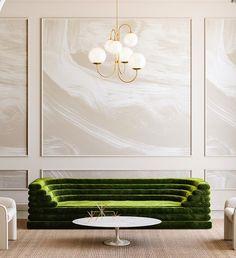 New wallpaper modern bedroom bathroom Ideas Contemporary Interior Design, Home Interior Design, Modern Classic Interior, Contemporary Kitchens, Kitchen Modern, Modern Luxury, Interior Styling, Modern Farmhouse, Sofa Design