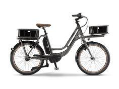 MarchasyRutas Winora eLoad una e-bike urbana con detalles muy bien pesados y que puede soportar gran cantidad de carga