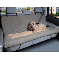 Mix together your pup's 2 favorite things - car rides and naps - with the Car Cuddler from Solvit. This cozy ride is fitted for car seats and features a central bed section in between a pair of generous side bolsters that keep your dog in place. Car Dog Bed, Dog Car Seats, Dog Beds, Dog Car Seat Covers, Dog In Car, Dog Car Accessories, Dog Ramp, Doja Cat, Cuddles