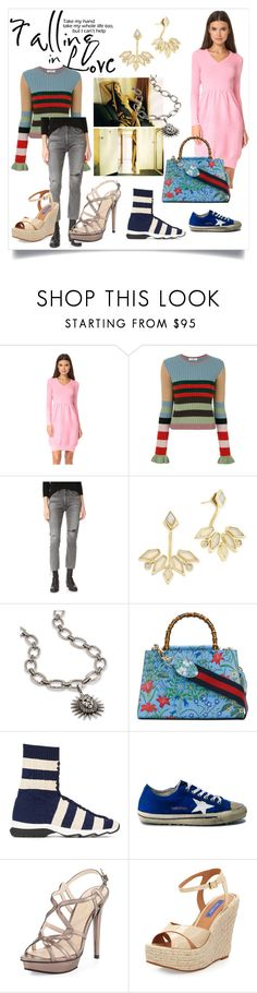 """""""Be your own style"""" by denisee-denisee ❤ liked on Polyvore featuring Anja, Boutique Moschino, Valentino, Citizens of Humanity, Kendra Scott, Gucci, Fendi, Golden Goose, Pelle Moda and Dee Keller"""