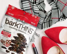 Are you making a list and checking it twice? Don't forget to check off barkTHINS for that perfect hostess gift or stocking stuffer. For a limited time, get the exclusive peppermint pretzel holiday flavor! www.barkTHINS.com. Happy Holidays!
