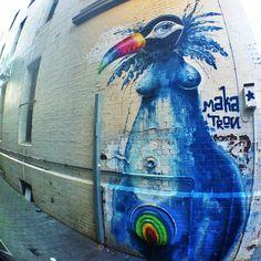 Leigh st Radelaide | Adelaide | Mike Maka | street art | graffiti