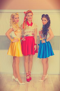 Fashion Brand, Skater Skirt, Campaign, Branding, Retro, Skirts, Clothes, Style, Kleding