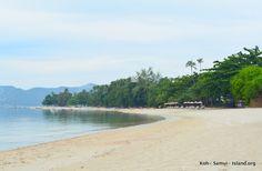 North Chaweng beach Koh Samui #kohsamui #thailand Koh Samui, Beaches, Thailand, Island, Water, Outdoor, Gripe Water, Outdoors, Sands