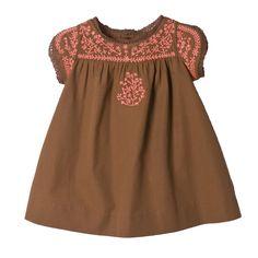 Robe Nicili Muscade Boutique en ligne Bonpoint
