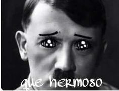 #Hitler #Alemania #Nazi #cute #beautiful #mostacho #random #Pinterest