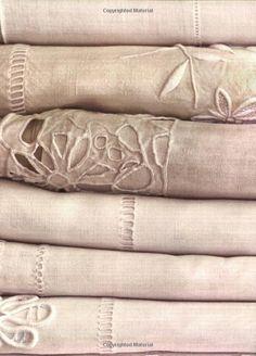 vintage patina linens. My French Life: Vicki Archer