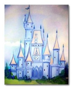 Cinderella Nursery Princess Girl Nursery Kids by handpainting