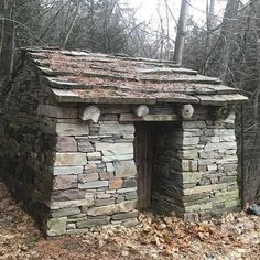 By John Shaw-Rimmington thinking-stoneman. Stone Cottages, Cabins And Cottages, Stone Houses, Dry Stone, Brick And Stone, Stone Walls, Stone Cabin, Stone Masonry, House On The Rock