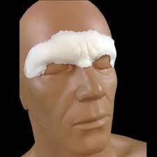 Foam latex costume noses, ears, horns, forehead appliances, brow prost | MostlyDead.com Alien Ears, Makeup Class, Professional Makeup Artist, Makeup Yourself, Horns, Sculpting, Latex, Brow, Horn
