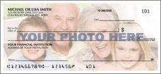 Side Tear - Photo Checks, 1 Photo Checks - clicks through larger detail view in new window