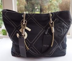 Shopping: Pre Loved Chanel Tote. I made quite a major purchase this week in the form of a canvas Chanel bag – pre-loved, mind you and a fraction of its ori