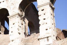 Restauro PORTA SUD COLOSSEO ROMA....cotto fatto a mano Fornace Bernasconi