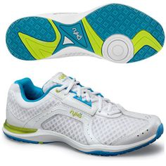 love these, Ryka shoes are great for Zumba, $70, but use the 15% off code from shoemall for $59 - got these in aqua!