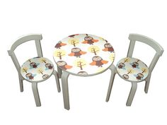 Children chair and table: ferm living