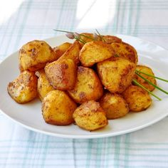 Barbeque Spiced Roasted Potato Nuggets - Rock Recipes -The Best Food & Photos from my St. John's, Newfoundland Kitchen.