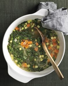 Mixed Vegetable Soup | Whole Living