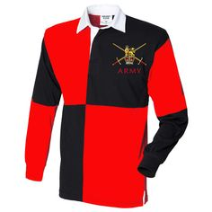 British Army Quartered Rugby Shirt