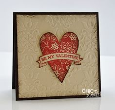stampin up vintage wallpaper cards | Vintage Wallpaper Valentine
