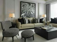 Want to make your home unique and beautiful? Our article will show you many options for an excellent and unique decor Home Living Room, Living Room Designs, Living Room Decor, Living Spaces, Muebles Living, American Interior, Classic Interior, Guest Bedrooms, Unique Home Decor