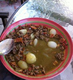 (Carne en Su Jugo) by Cristal Hernández