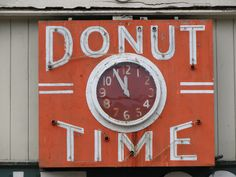 What time is it?  It's Donut Time!