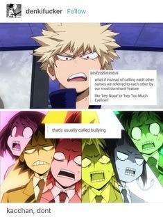 Mha Myheroacademia Anime Mangas Kachan Funny My Hero Academia Memes My Hero Hero
