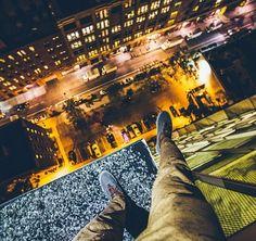 Impresionantes imágenes de Nueva York al borde del precipicio y la ilegalidad