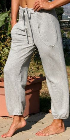 TYSA Beach Cruiser Pant in Heather French Terry