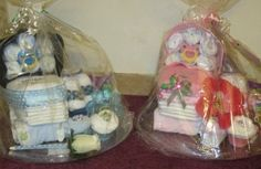 Diaper Carriages for twins. Baby shower gifts