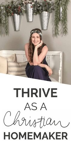How to THRIVE as a Christian Homemaker. Everything from Bible Study tips, to housekeeping checklists and guides, and inspiration for your own DIY and home decor! Christian Wife, Christian Families, Christian Marriage, Christian Homemaking, Bible Study Tips, Biblical Womanhood, Grown Women, Good Wife, Godly Woman