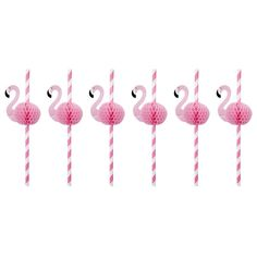 Sunnylife Flamingo Honeycomb Straws