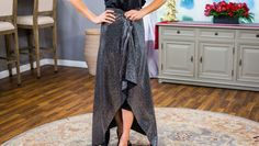 Orly Shani shows just how easy it is to add some sparkle to your New Year's Eve outfit. Hallmark Homes, Home And Family Hallmark, Christmas Fabric Crafts, Hallmark Channel, Diy Clothing, Diy Fashion, Sequin Skirt, Sequins, Sparkle