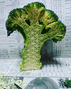 Les incroyables légumes sculptés d'un artisan japonais (image)