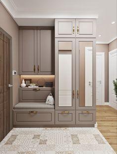 Room Design Bedroom, Home Room Design, Home Decor Bedroom, Home Interior Design, House Design, Apartment Interior, Apartment Design, Interiores Art Deco, Home Entrance Decor