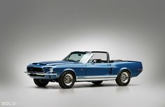 1968 Ford Mustang Shelby GT500 KR Convertible