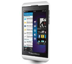 Blackberry Z10 White. - love my new phone!