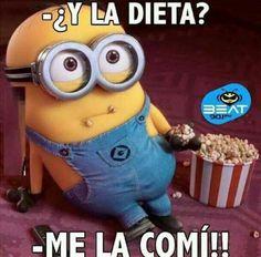¿Y la dieta?