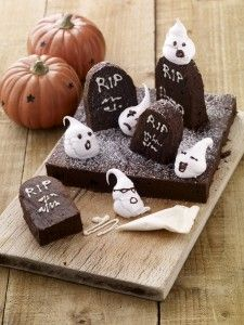 View Kevin Dundon's Recipe for Halloween Graveyard Brownies